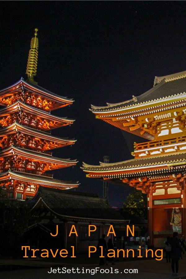 Japan Travel Planning by JetSettingFools.com