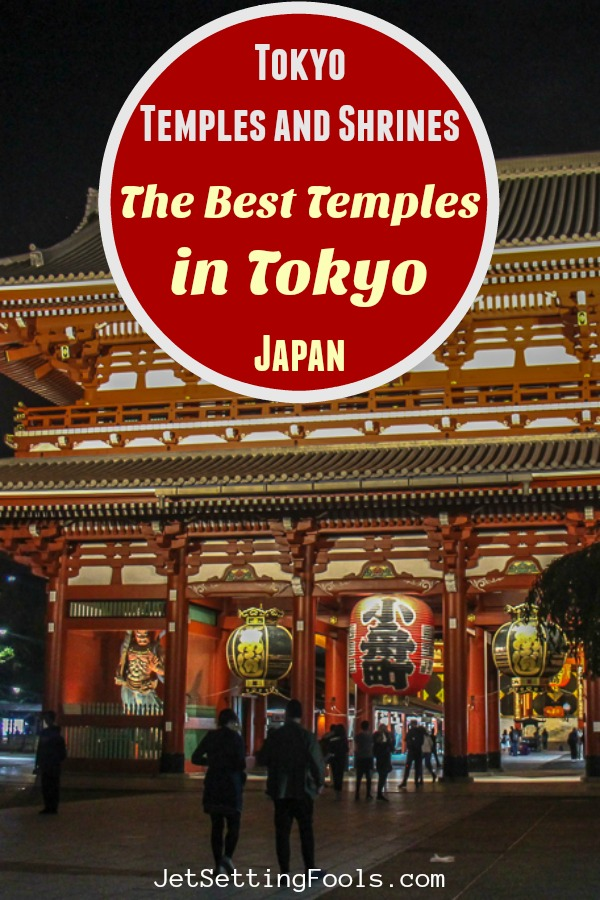 Tokyo Temples and Shrines by JetSettingFools.com