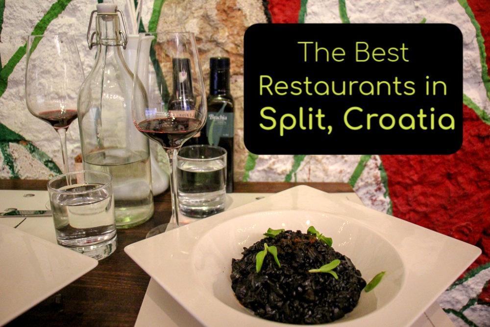 The Best Restaurants in Split, Croatia by JetSettingFools.com