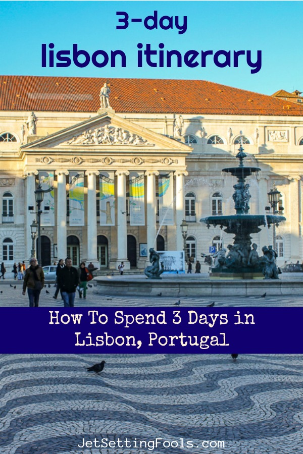 3-Day Lisbon Itinerary by JetSettingFools.com