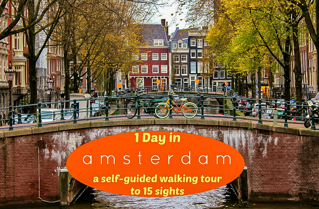 Walking Tour Amsterdam, Sight Seeing Amsterdam in one day
