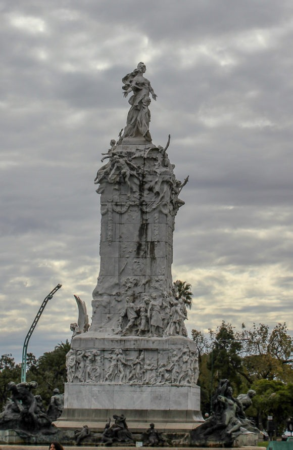 Monument to the Carta Magna and Four Regions of Argentina in Buenos Aires, Argentina