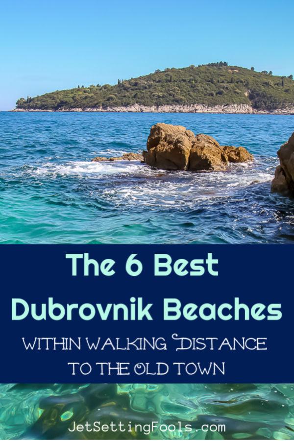 The Best Dubrovnik, Croatia Beaches by JetSettingFools.com