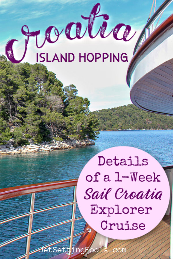 Croatia Island Hopping Details of Sail Croatia Explorer Cruise by JetSettingFools.com