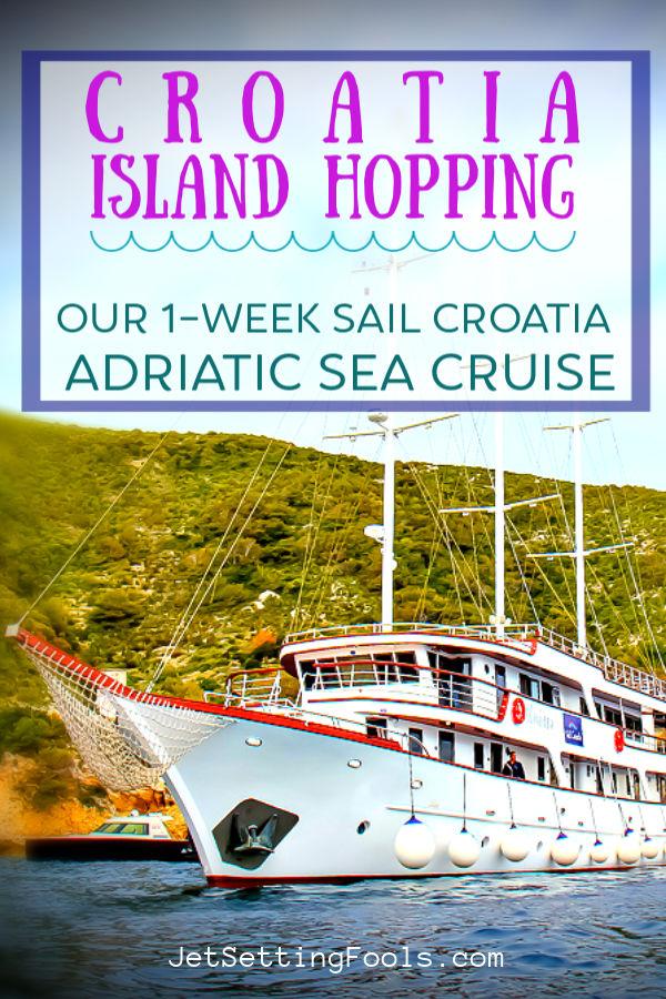 Croatia Island Hopping A 1-Week Sail Croatia Adriatic Sea Cruise by JetSettingFools.com