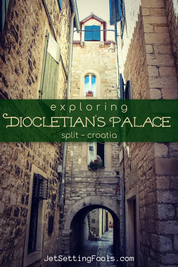 Explore Dicoletian's Palace in Split Croatia by JetSettingFools.com