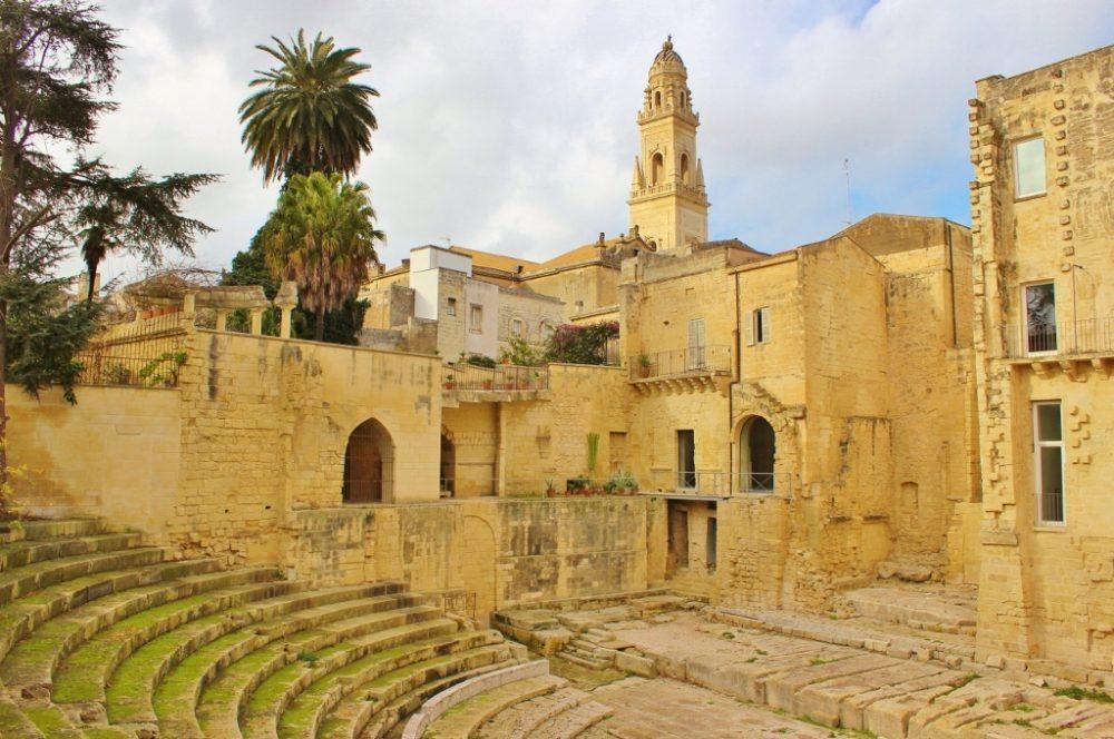 Roman Theater in Lecce, Italy