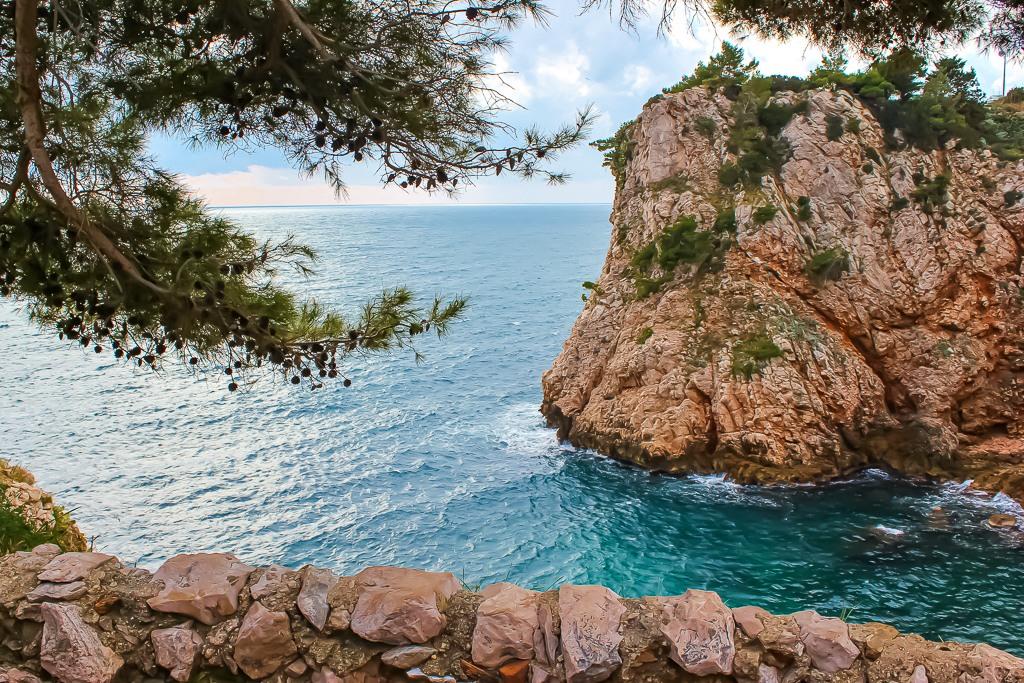 Sulic Beach in Dubrovnik, Croatia