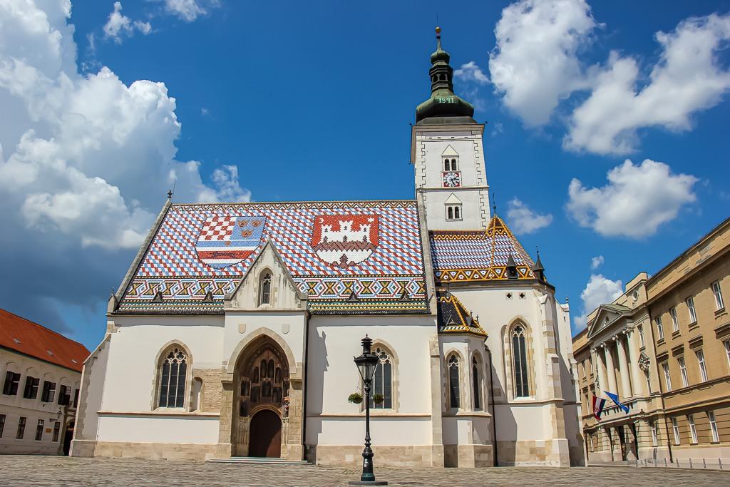 St. Mark's Church in Zagreb, Croatia