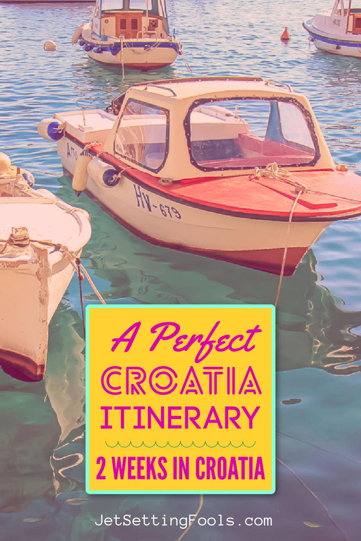 A Perfect 2 Weeks in Croatia Itinerary by JetSettingFools.com