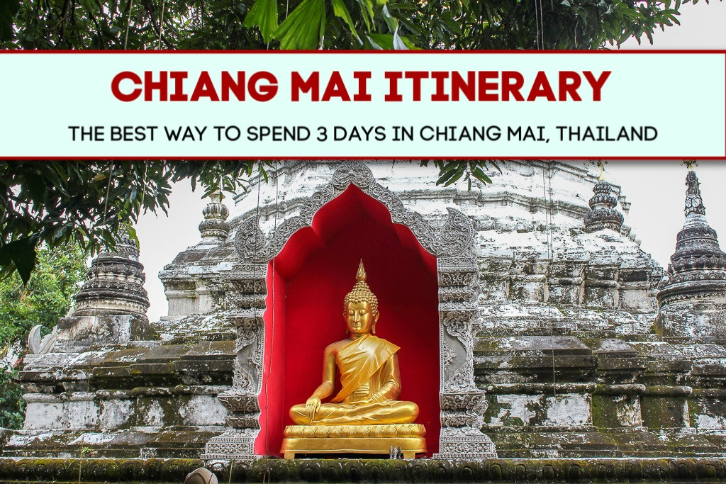 Chiang Mai Itinerary: The Best Way To Spend 3 Days in Chiang Mai, Thailand by JetSettingFools.com