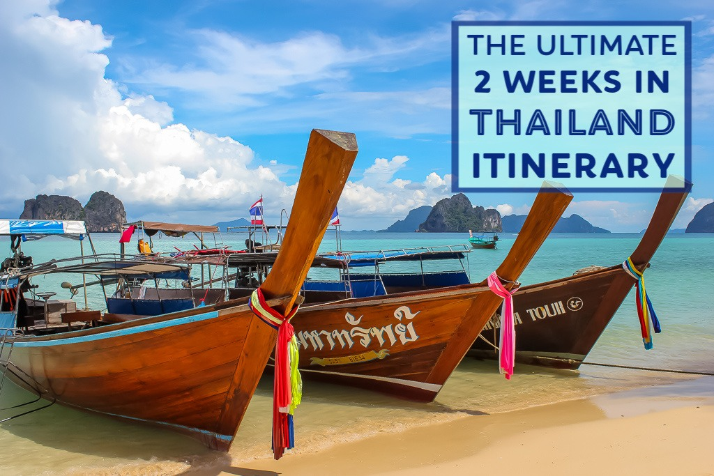 The Ultimate 2 Weeks in Thailand Itinerary by JetSettingFools.com