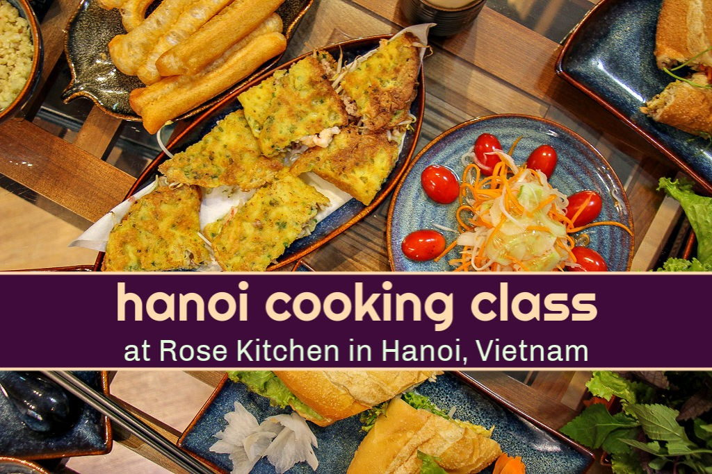Hanoi Cooking Class at Rose Kitchen by JetSettingFools.com