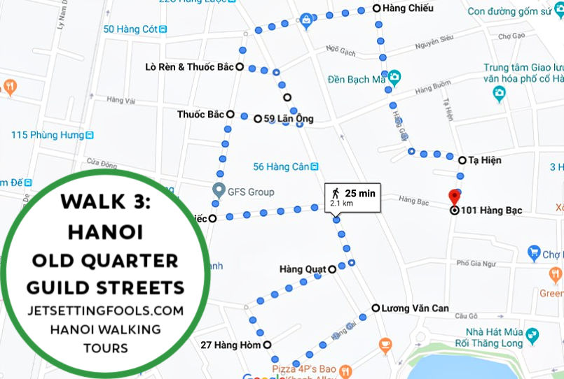 Hanoi Walking Tour Walk 3 by JetSettingFools.com