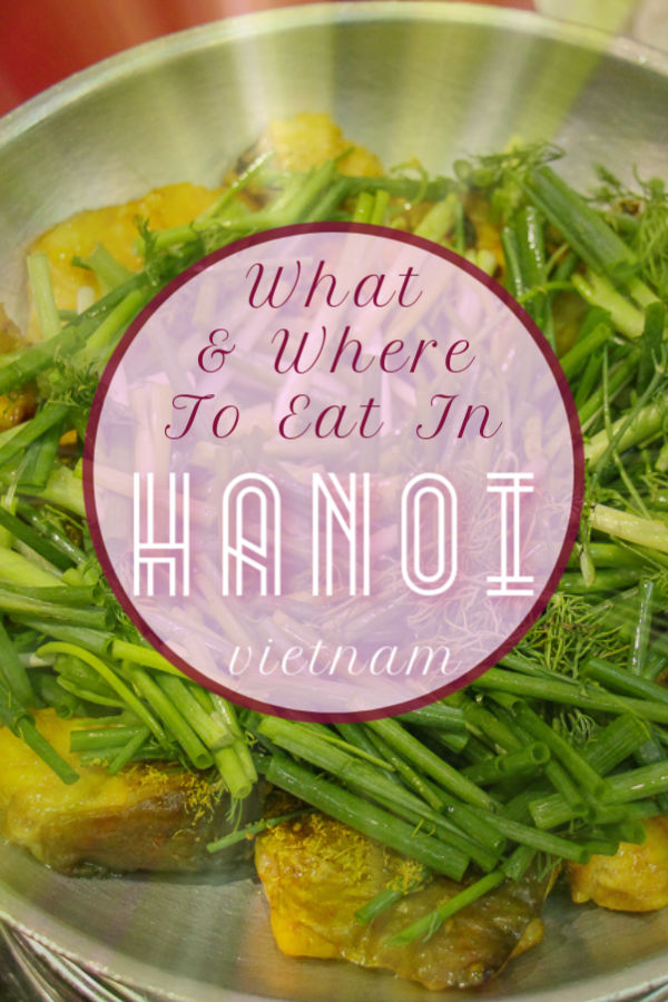 Where To Eat in Hanoi by JetSettingFools.com