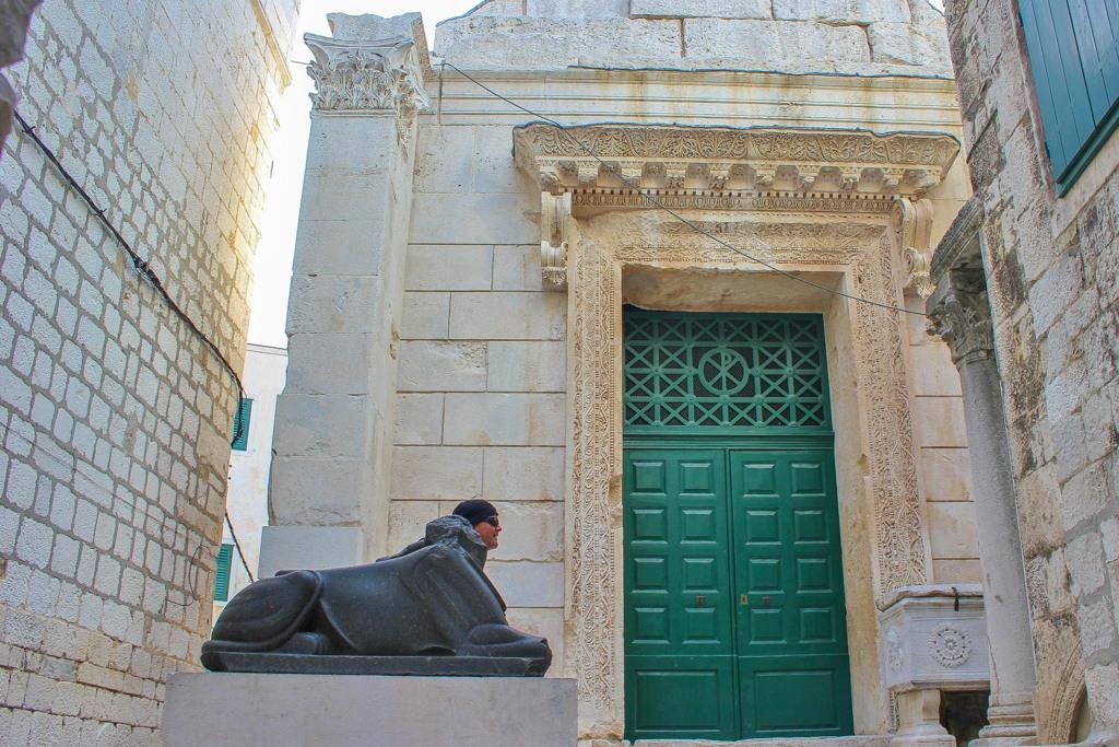 Jupiter's Temple, Split, Croatia