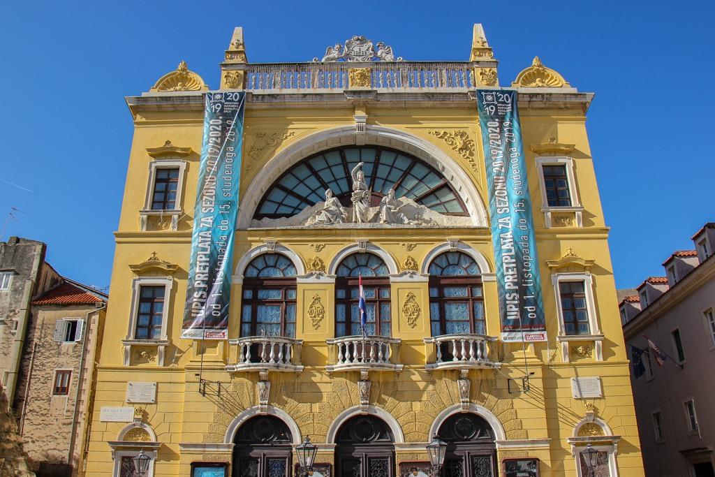 National Theater, Split, Croatia