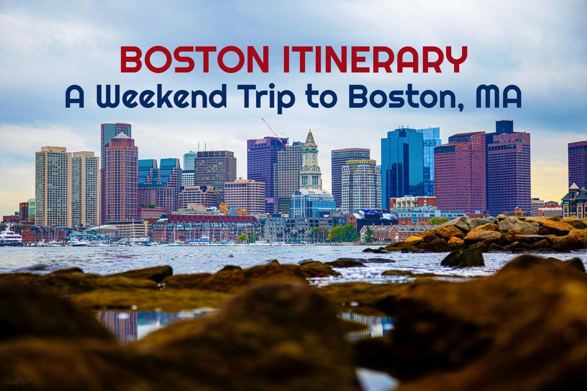 Boston Itinerary A Weekend Trip to Boston, MA by JetSettingFools.com