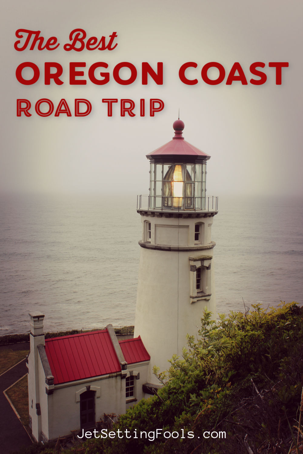 The Best Oregon Coast Road Trip by JetSettingFools.com