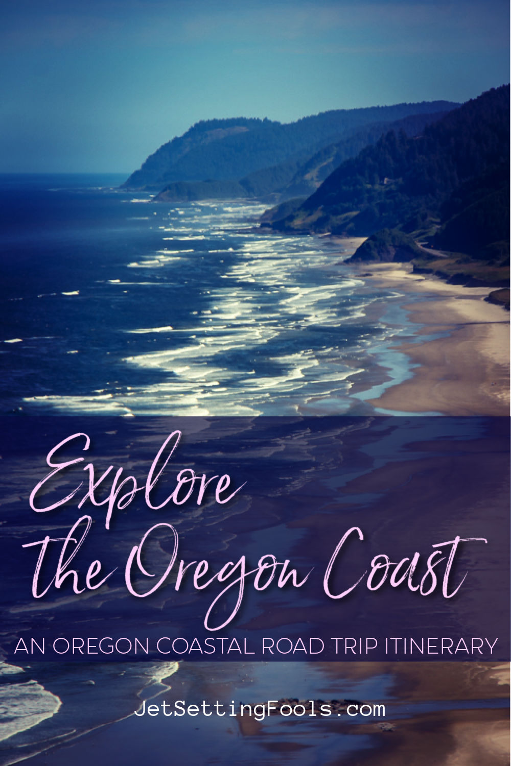 Explore the Oregon Coast Road Trip Itinerary by JetSettingFools.com