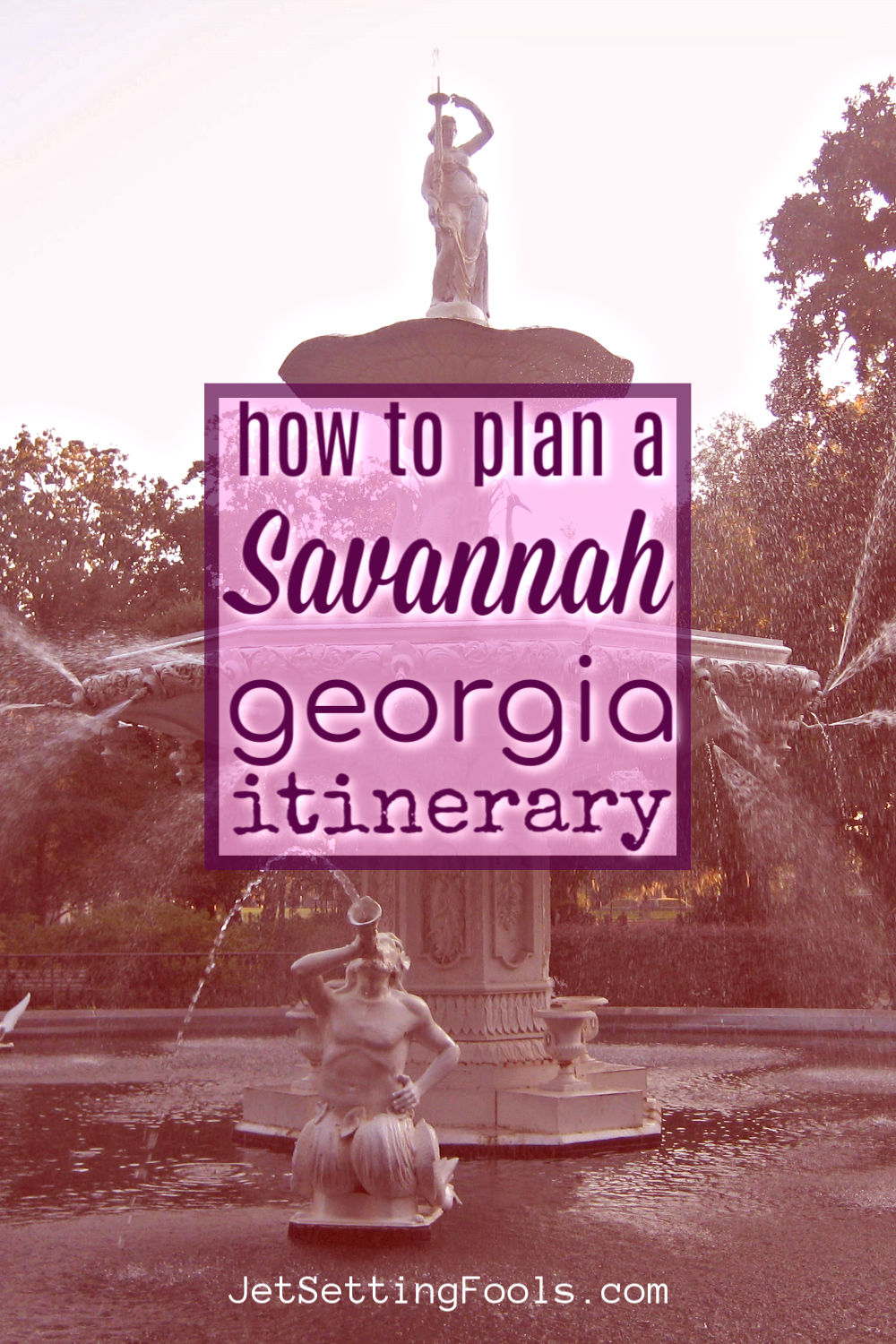 How To Spend a Weekend in Savannah Georgia by JetSettingFools.com