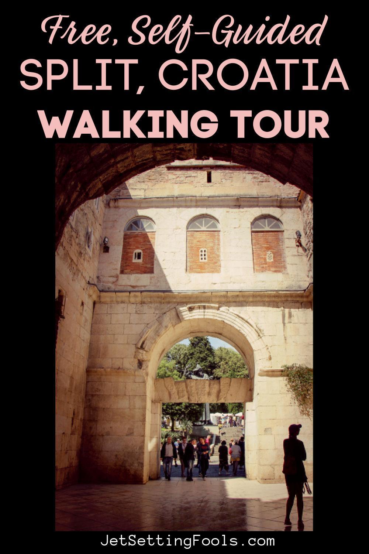 Free Self Guided Split, Croatia Walking Tour by JetSettingFools.com