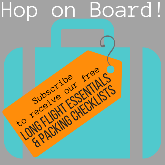 Subscribe Flight Essentials and Packing Checklists