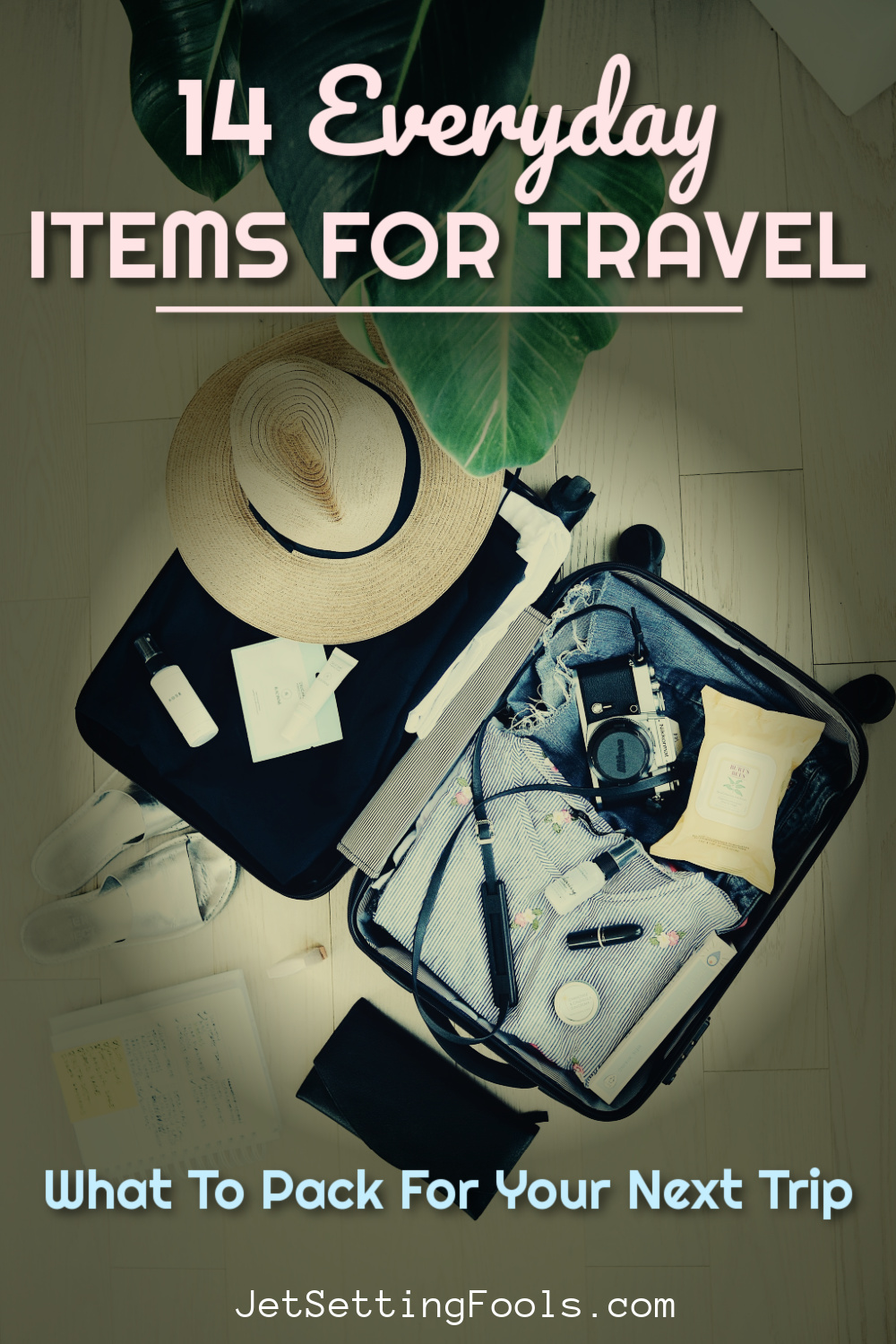 Things To Pack for a Trip by JetSettingFools.com