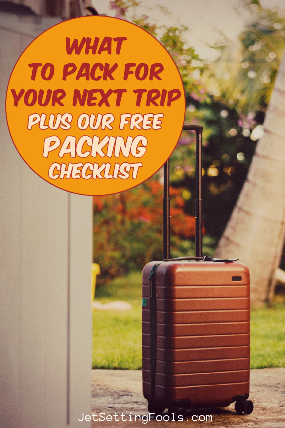 What To Pack Free Packing Checklist by JetSettingFools.com