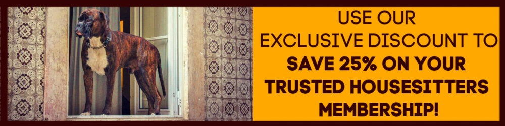 Discount on Trusted Housesitters Membership by JetSettingFools.com