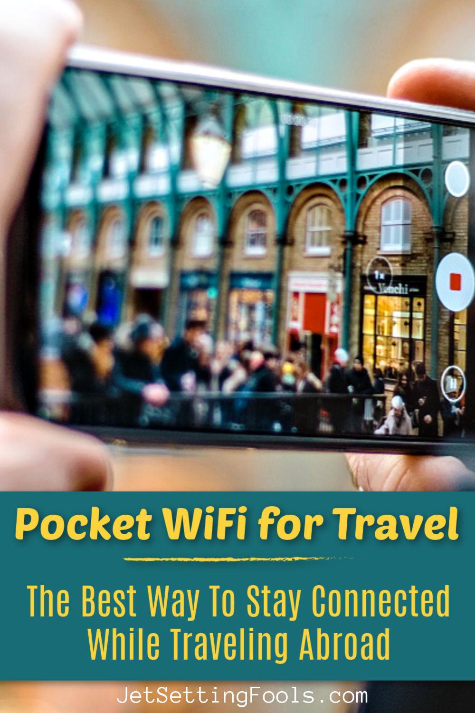 Pocket WiFi for Travel by JetSettingFools.com