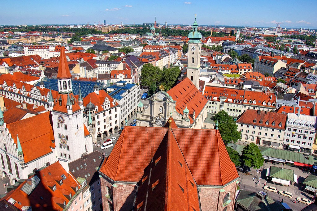 Views of Munich Germany on a Layover