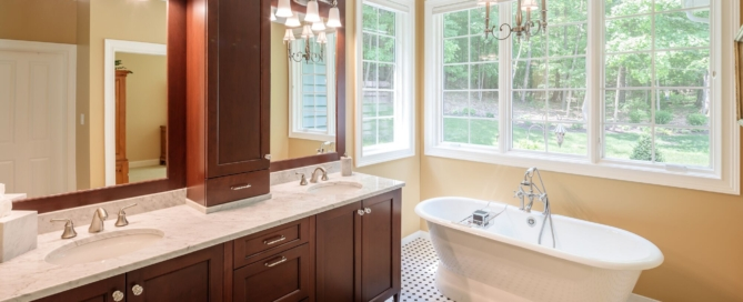 Ideas for bathrooms in a new house | Woodstone Custom Homes | Pittsford, NY