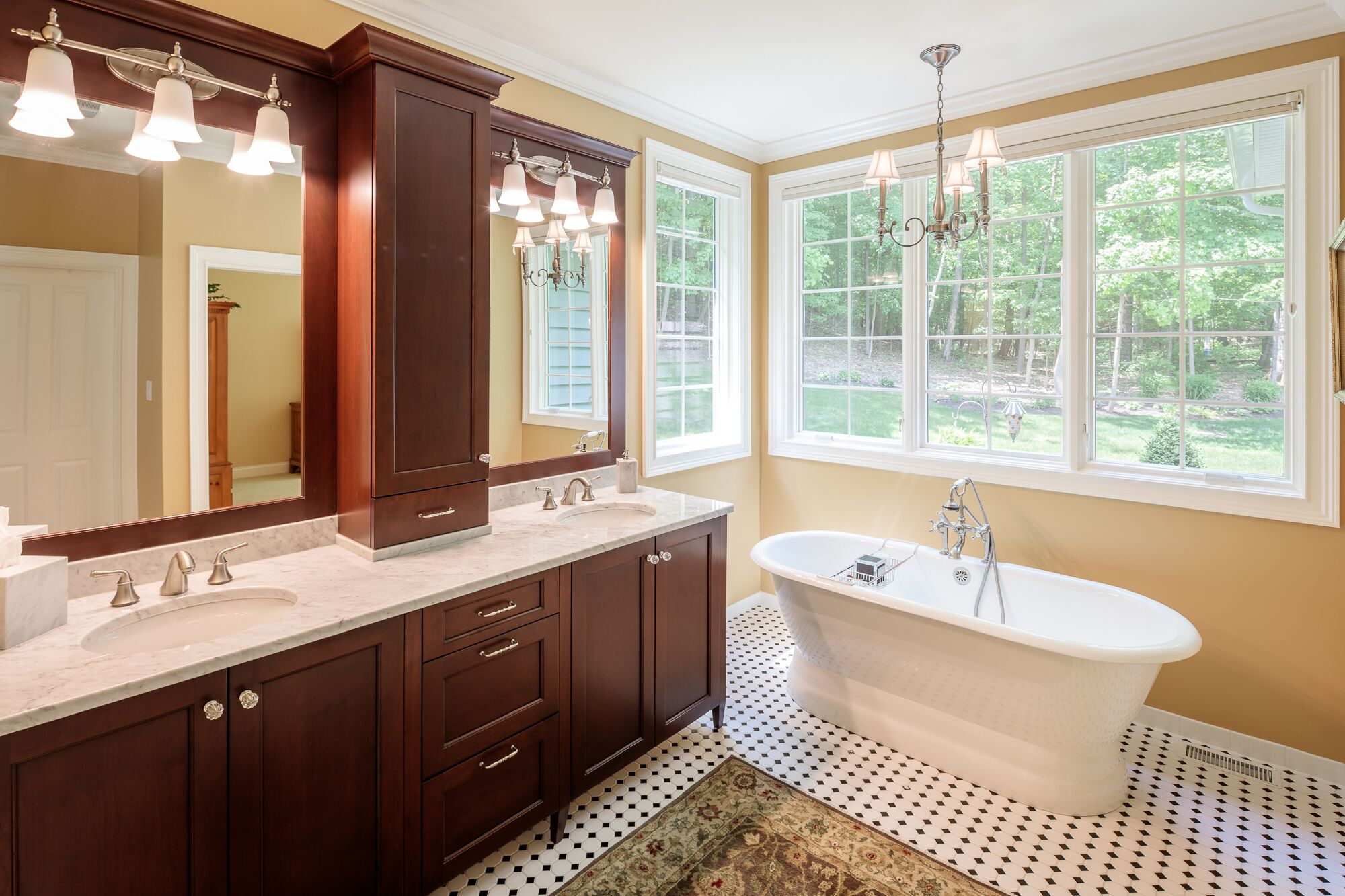 Ideas for bathrooms in a new house   Woodstone Custom Homes   Pittsford, NY