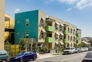The finished Kalos apartment complex, located at 3795 Florida St. (Photo by mark Davidson Photography)