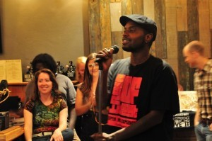 Spoken word artists were a part of the first The Verge Salon (Courtesy Jennie Edwards)