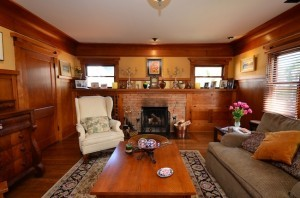 The house was completely renovated in 2006, with woodwork by Craftsman Wood Refinishing. (Courtesy Michael Good)