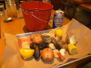 Low country seafood boil (Photo by Frank Sabatini Jr.)