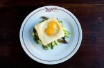 Truffle egg toast (Courtesy Davanti Enoteca)