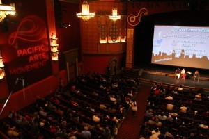 The opening night of the San Diego Asian Film Festival held at Birch North Park Theatre (Photo by Jose Bucud)