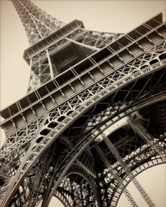 Eiffel Tower by Gregory Berg of Enso Photography (Courtesy of UH Arts Open)