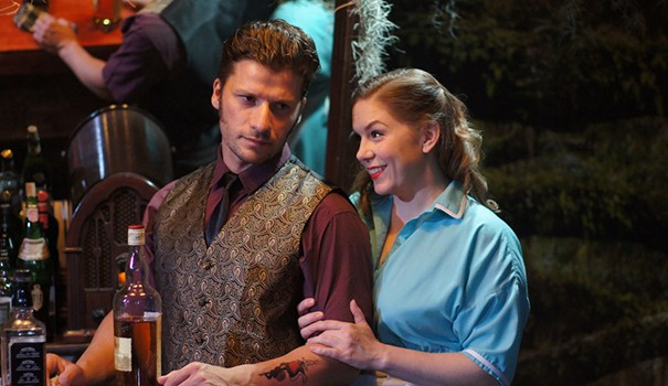 Jake Rosko and Kristin Woodburn (Courtesy of ion theatre)