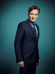 Conan O'Brien will tape four shows at Spreckels Theatre during Comic-Con. (Courtesy TBS)