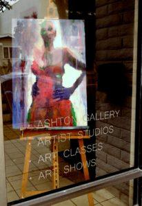 Gallery window (Courtesy of Art on 30th)