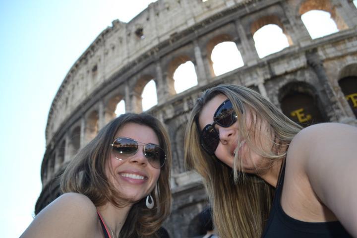 Chegando no Coliseu