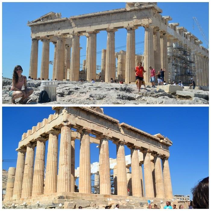 templo partenon Atenas
