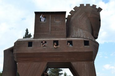visita sitio arqueologico troia