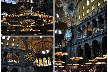 candelabros hagia sofia istambul