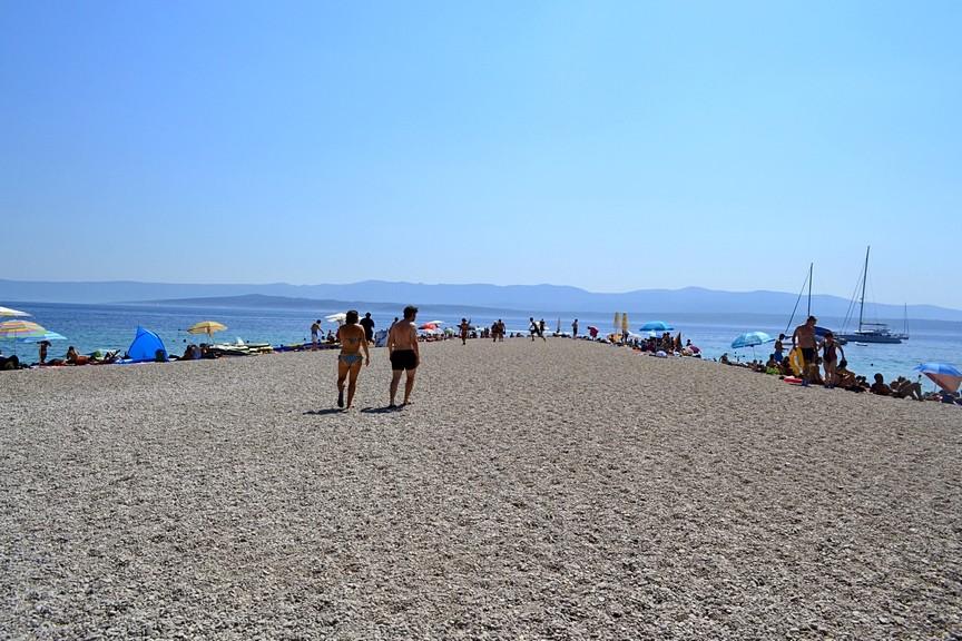 praias croácia