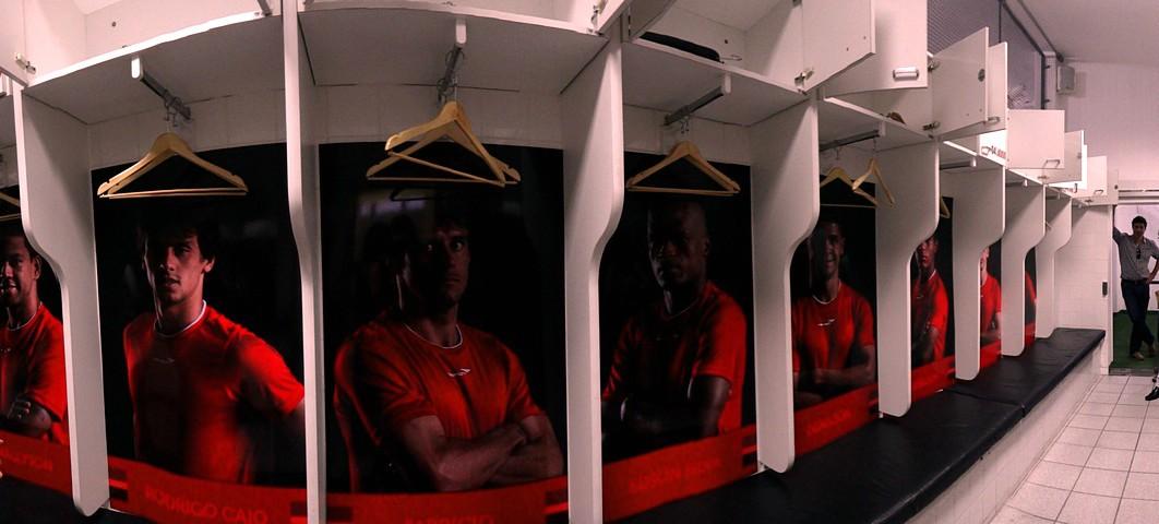 vestiário estádio morumbi